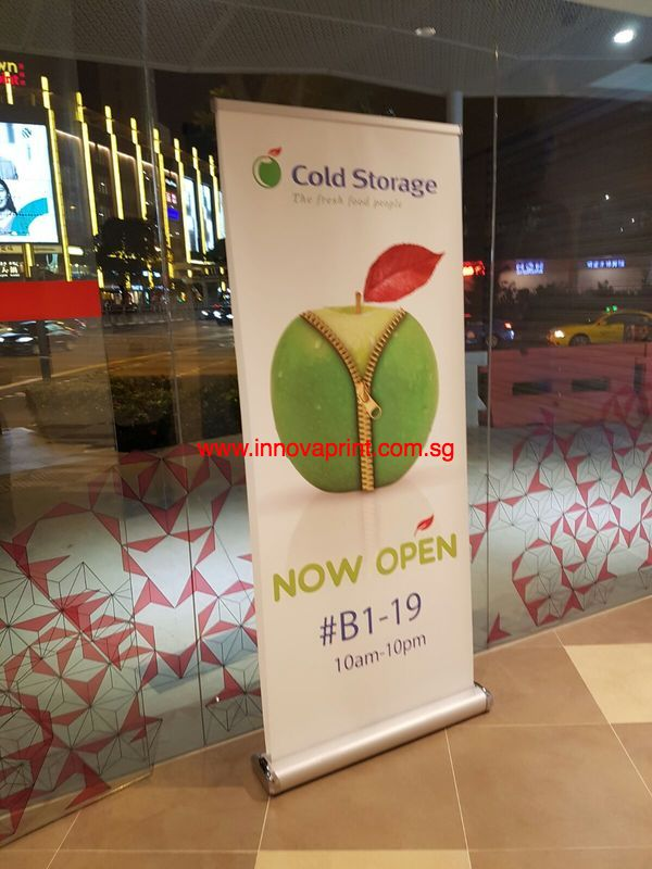 Pull Up Banner printing singapore
